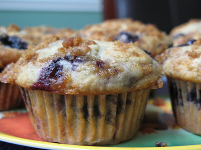 Rose's Recipes: Big Blueberry Muffins