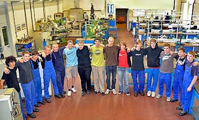 Formenbau Lehrausbildung in Doberschau