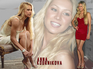 Free Beautiful, Sports and Tennis Star Anna Kournikova