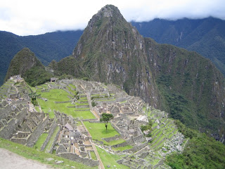 Beautiful and natural image and landscape wallpaper of historical wonder of the world Machu Picchu