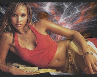 Beautiful, wall papers of Jessica Alba