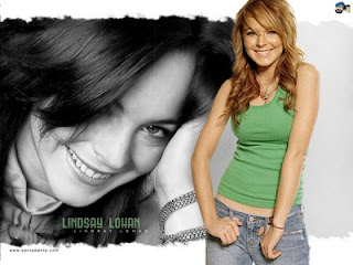 cute and beautiful Model and pop singer Lindsay Lohan pictures and images