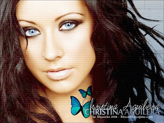 free Singer Christina Aguilera cute wallpapers and images to download