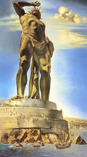 natural wallpapers of Colossus of Rhodes, Greek