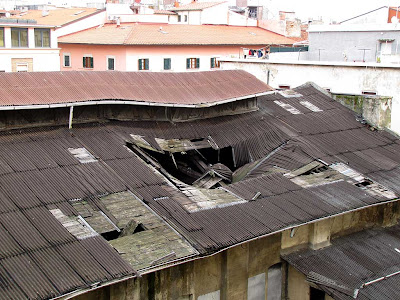 Collapsed roof, Livorno