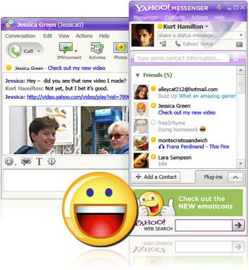 Yahoo Messenger Old Versions