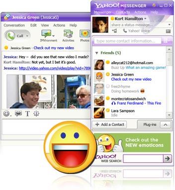 Yahoo Messenger Old Versions