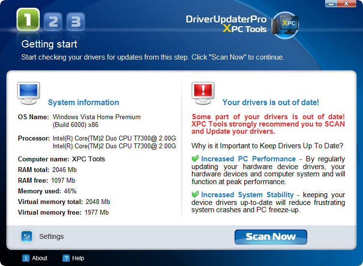 Driver Updater Pro 2.3.2.0