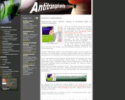 Antitranspirante - Kampf dem Schweiß