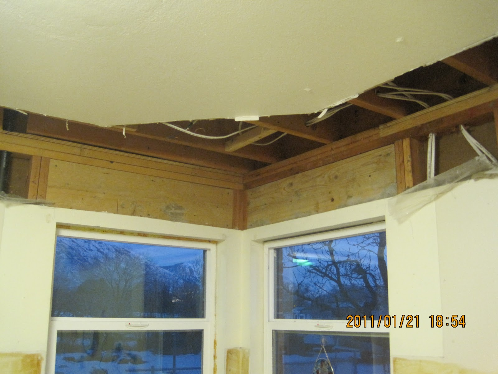 Kitchen Remodel with Soffit
