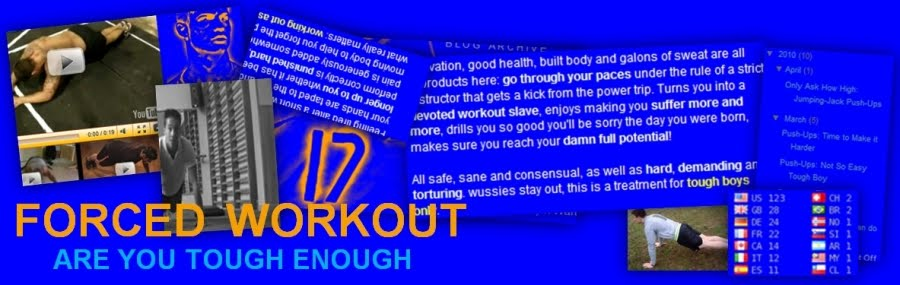 Forced Workout | ARE YOU TOUGH ENOUGH