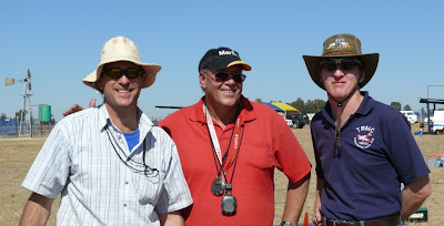 BERG Team for the day Derek Marusich, Piet Rheeders and Gert Nieuwoudt