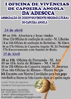 Clique no cartaz para conferir a programação