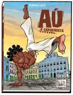 Capa de Aú, o Capoeirista