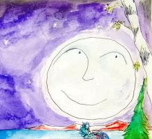 la cara de la luna