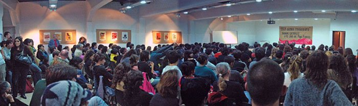14 de MAYO: Mas de 300 personas participaron de la inauguración de las jornadas en La Plata