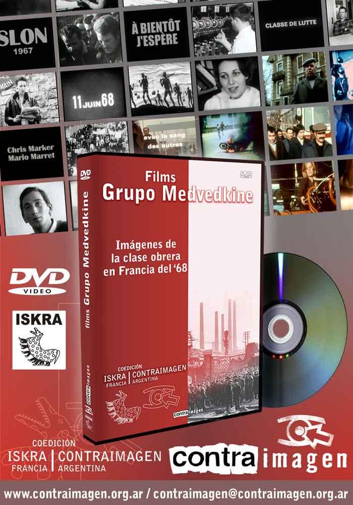 Salió la Coedición ISKRA-CONTRAIMAGEN con films del Grupo de Cine Medvedkine