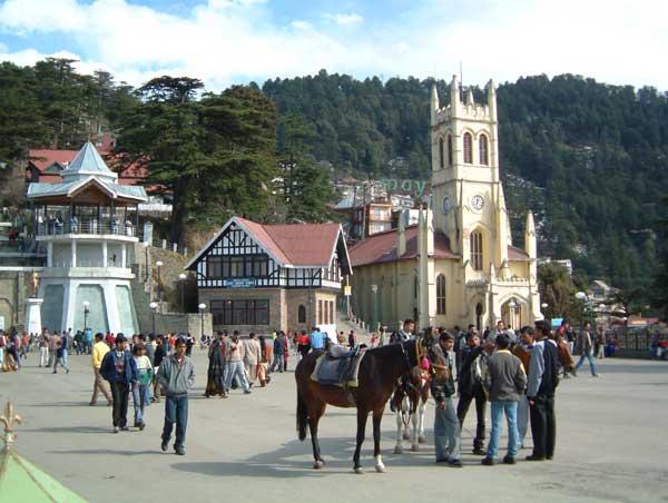 India Luxury Car Shimla Capital Of Himachal Pradesh