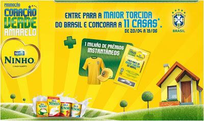 promoção coração verde amarelo nestlé