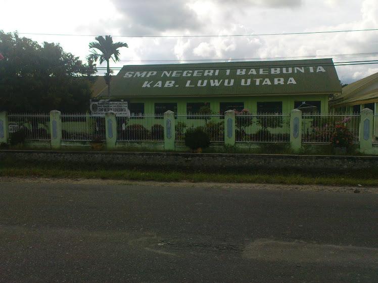 SMP Negeri 1 Baebunta
