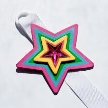 Star hair clip holder