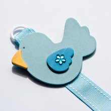 Tweety hair clip holder