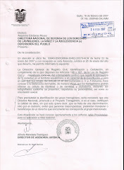 Resolución Registro Civil del Ecuador