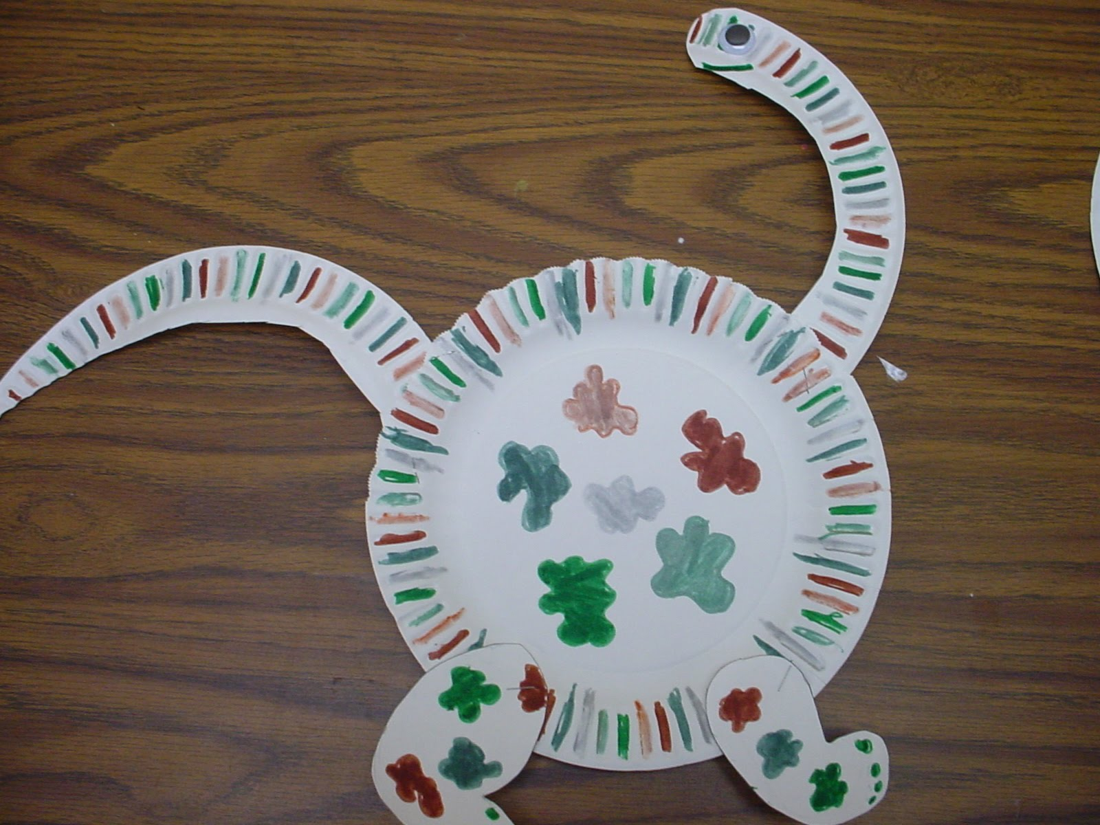 Animals paper plate crafts learningenglish esl for Easy paper plate crafts