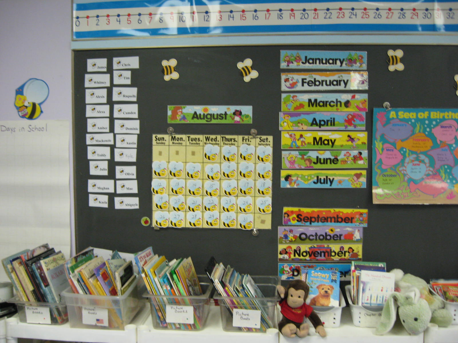 English Classroom Decoration Ideas : Learningenglish esl calendar ideas for the classroom