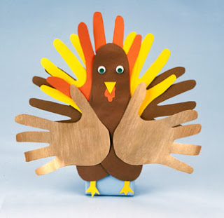 handprint craft, turkey craft, kids crafts