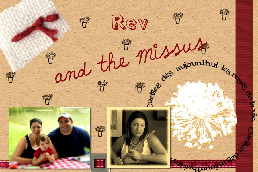 Rev And The Missus