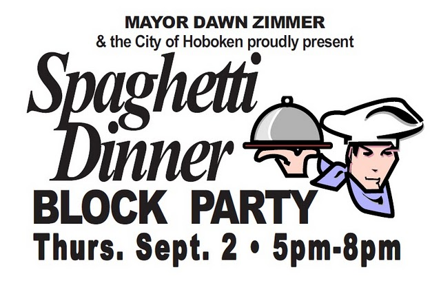 spaghetti dinner block party