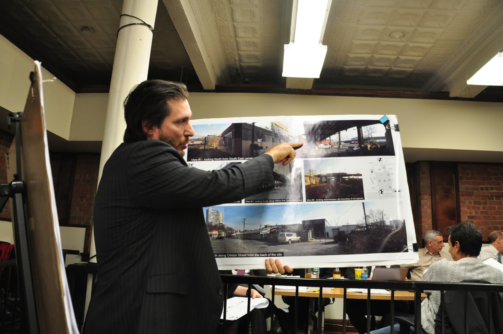 the hoboken journal update weehawken or richard turner frank minivervini a prominent hoboken architect presents his plans to the board for hoboken unleashed the plan as presented calls for up 88 kennels in the