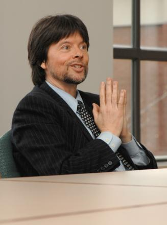 Ken Burns Hairstyle