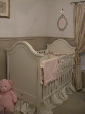 Cribs For Twins. The girl#39;s crib.