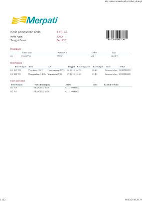 tiket pesawat merpati airline