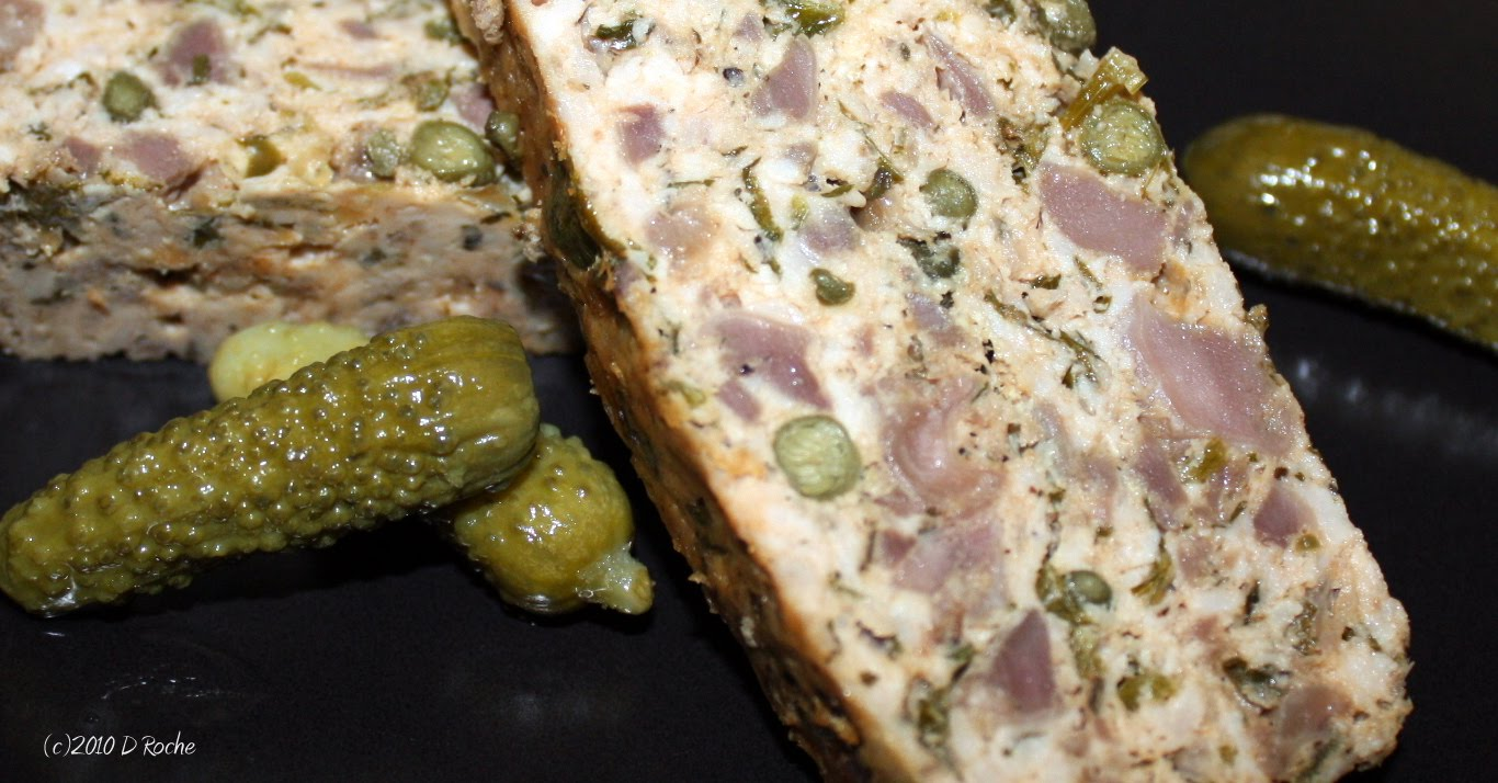 In the kitchen with nick ground pork and chicken gizzard ground pork and chicken gizzard terrine gives one an inexpensive way to gourmet ccuart Choice Image