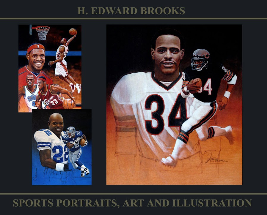the sports art of h. edward brooks