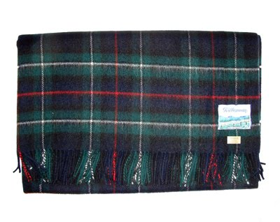 Plaid scarf from The Scottish Weaver