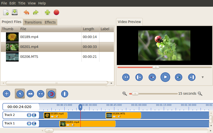 Openshot 1.2.2  is released! The best video editor for Linux