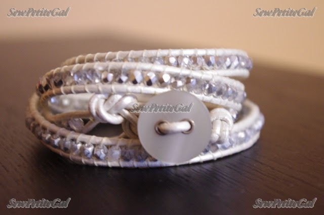 diy leather bracelet tutorial - photo #11