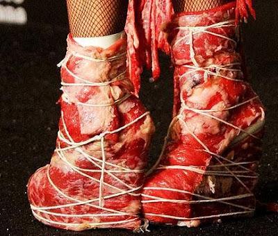 lady gaga zapatos de carne zapatos de mujer