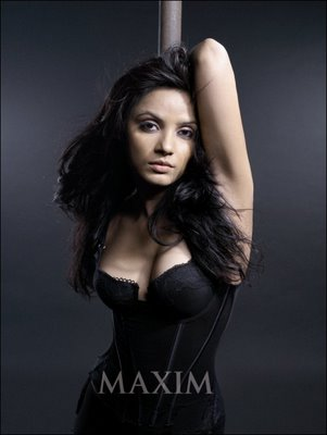 Neetu Chandra Hot Photoshoot Pictures from Maxim Magazine - January 2009
