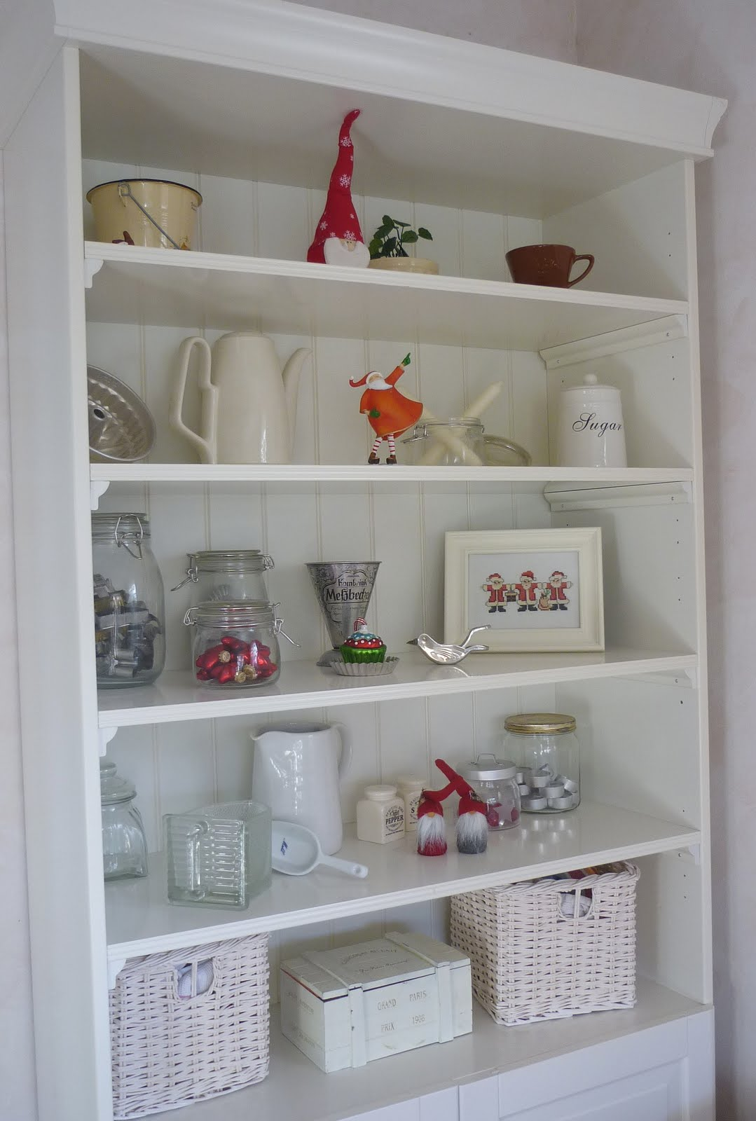 tinkas welt weihnachtliche deko in der k che. Black Bedroom Furniture Sets. Home Design Ideas
