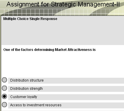 Strategic Management Summer Reassessment Assignment 1 Individual Essay ...