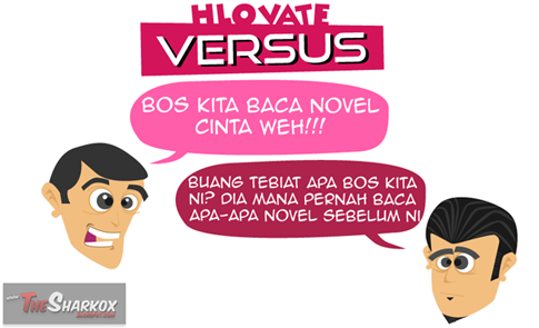 novel Versus karya HLOVATE