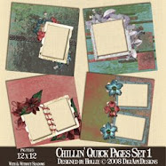 Chillin Quick Pages Set 1