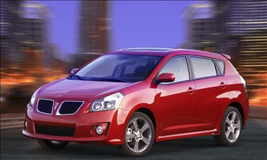 New for 2010 Pontiac Vibe