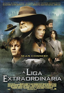 Filme poster A Liga Extraordinaria DVDRip Xvid Dual Áudio