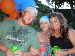 Chris, me and Sarah 7/08